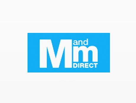 M and M direct rabatkode